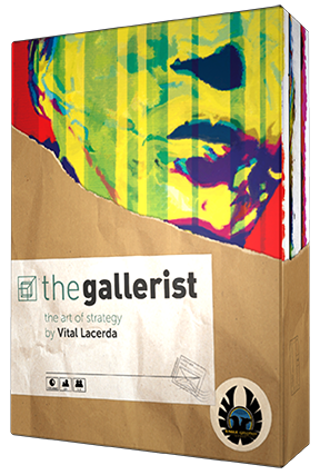 Mary Dimercurio Prasad: Review of The Gallerist | The Opinionated Gamers image