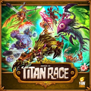 Titan Race - cover
