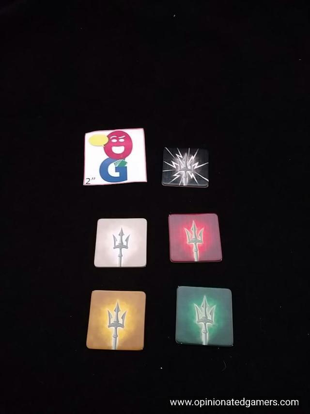 The five varieties of storm tiles