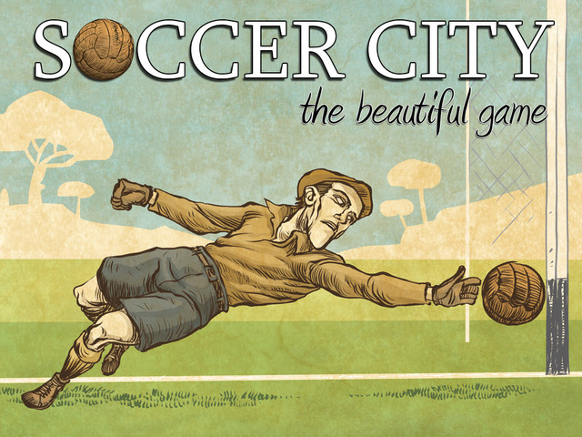 soccer city art