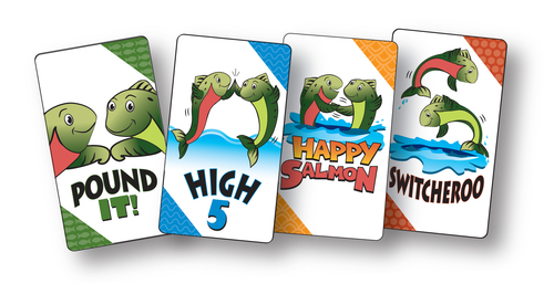 happy salmon cards