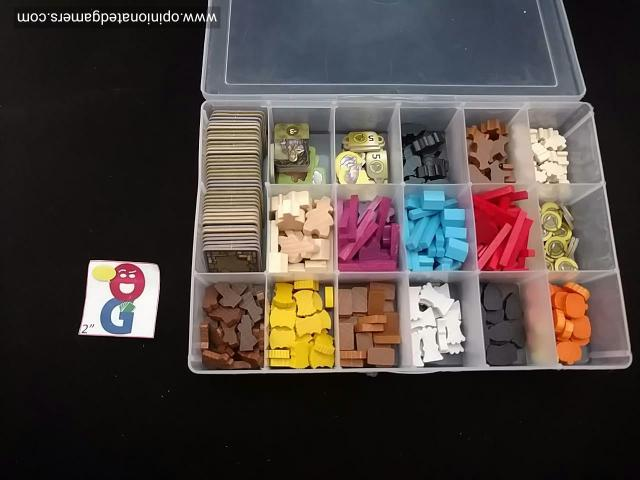 I have found a small plastic box from Hobby Lobby to contain all the bits