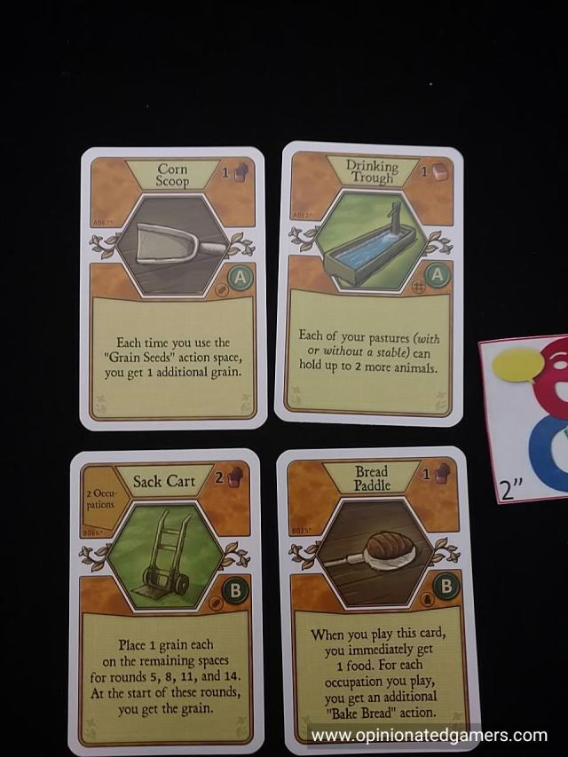 """Some of the cards. They are split into """"A"""" cards and """"B"""" cards"""