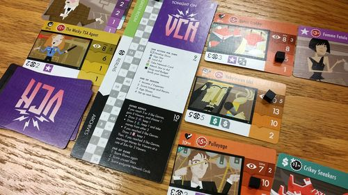 Here is your personal area - the green room is in the upper left corner - cannot see it fully here (Pic courtesy of Dan Edelen (edelen) from BGG)