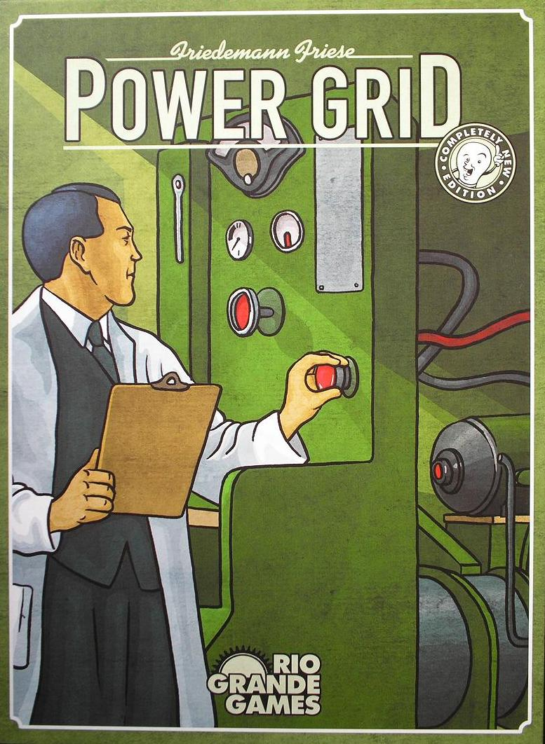 Rio Grande Games Power Grid Promo Card New 2016