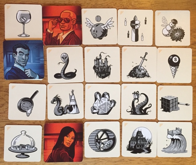 Codenames Game Board