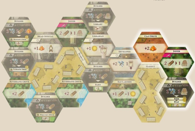 colonists board