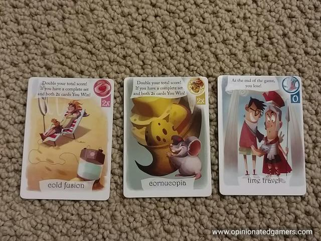 Some of the special cards