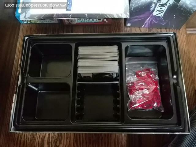 plenty of space in the box insert to store other sets and expansions