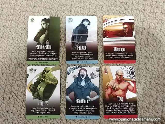 Examples of other cards