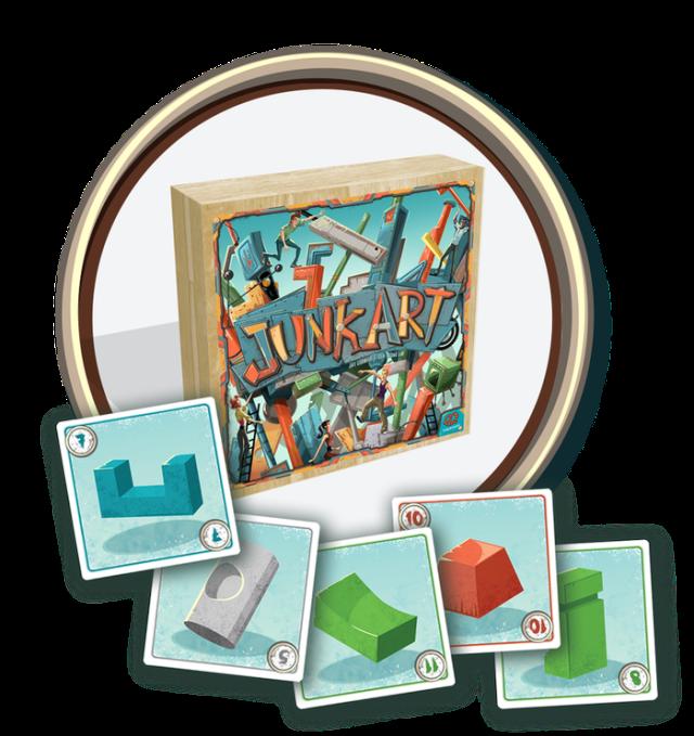 junkart piece cards