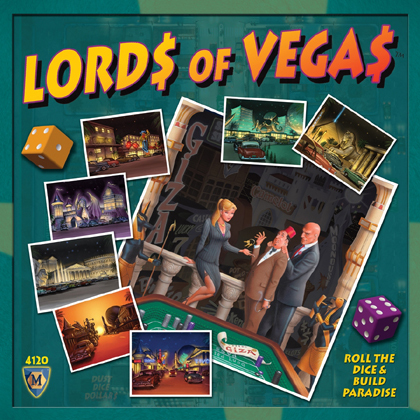 Lords of Vegas with UP! Expansion | The Opinionated Gamers image
