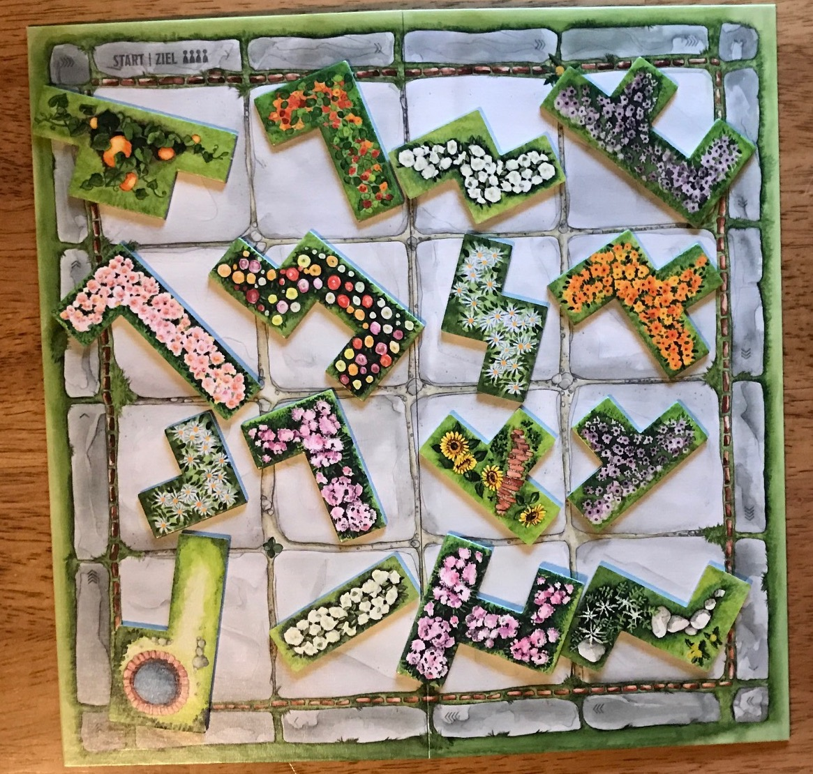 The Game Will Last Six Rounds, And The Player With The Most Points At The  End Of The Sixth Round Wins. A U201cgardener Dieu201d Travels Around The Nursery  Board, ...