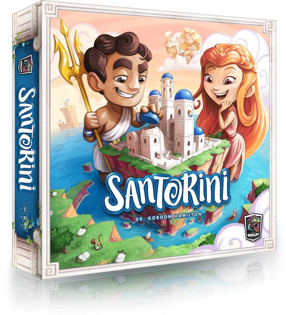 Santorini (Game Review by Chris Wray) | The Opinionated Gamers image