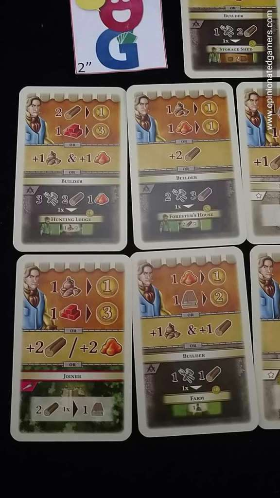 Some of the possible Era 1 Market cards