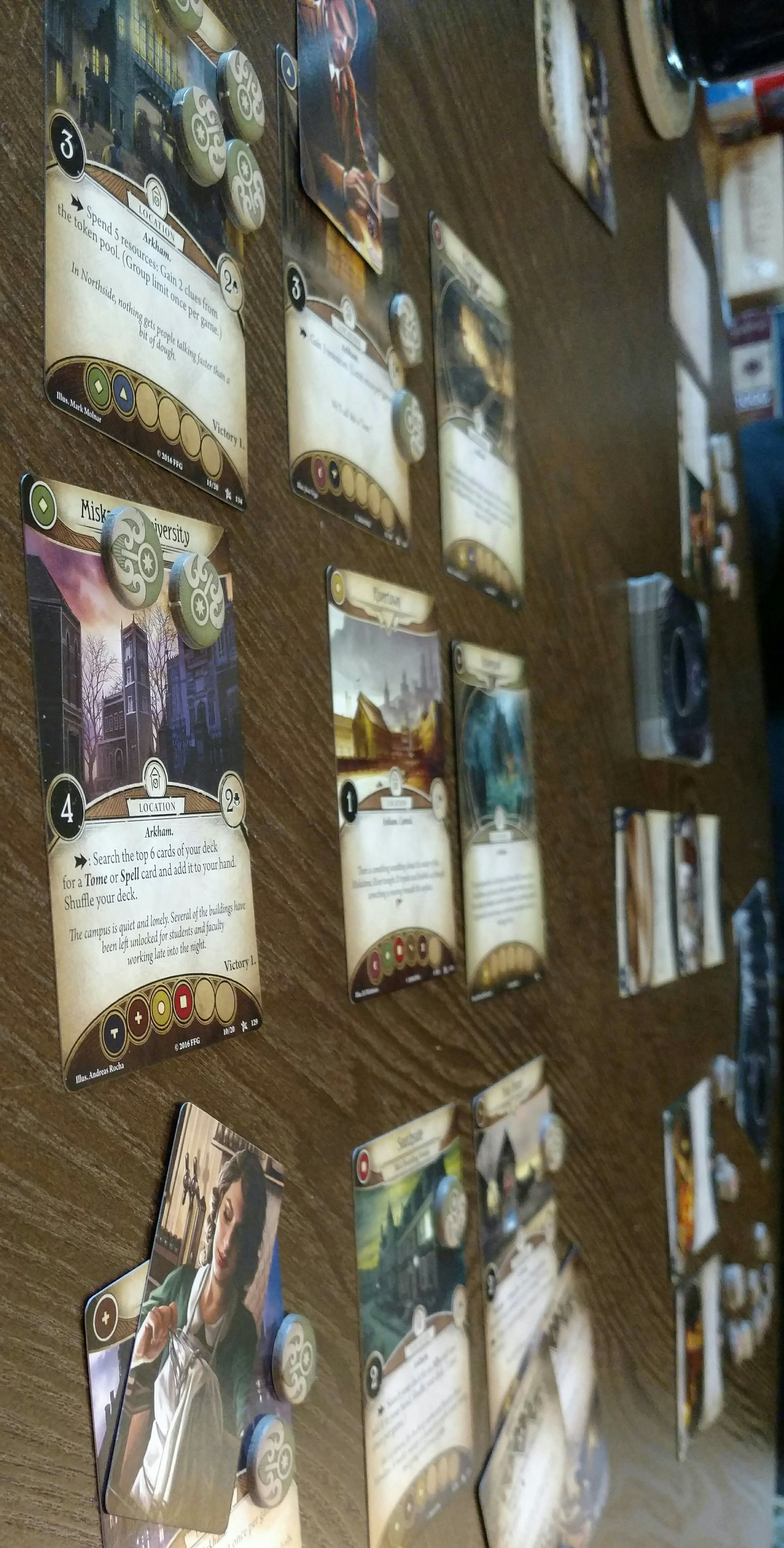 Arkham Horror: The Card Game | The Opinionated Gamers image
