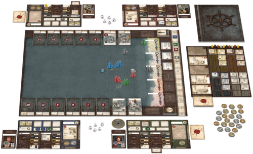 Patrick Brennan Now I M Done With Seafall The Opinionated Gamers