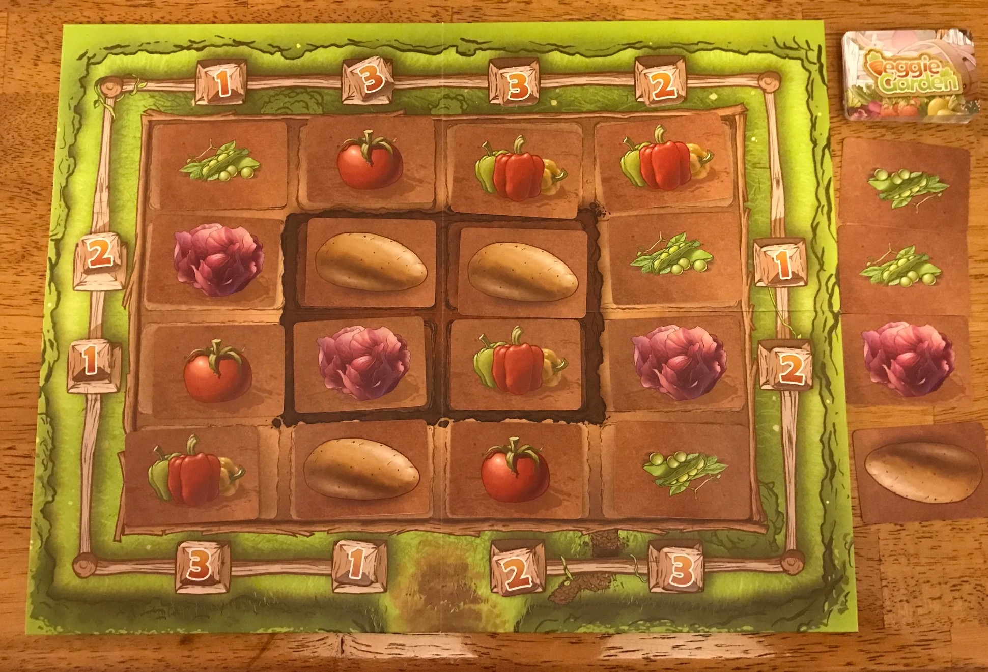 Veggie Garden (Game Review by Chris Wray) | The Opinionated Gamers