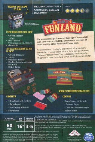 Escape Room The Game – Welcome to Funland