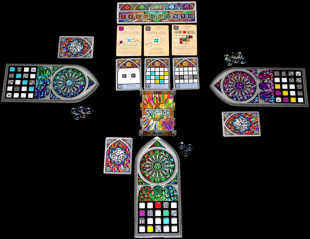 Dale Yu: Review of Sagrada | The Opinionated Gamers image