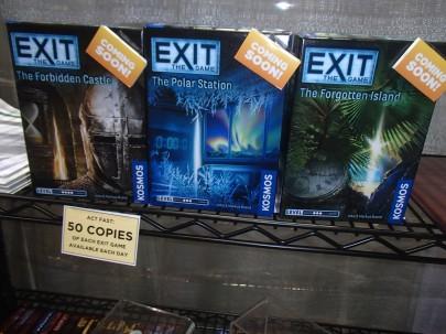 Kosmos (4) exit