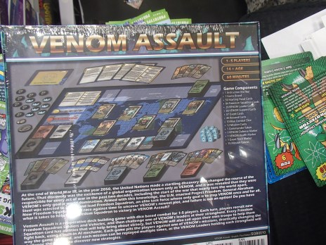 spyglass games.venom assault