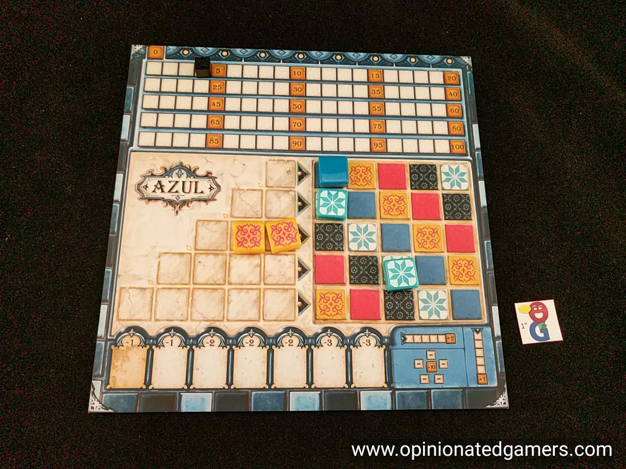 Opinionated Gamers - Dale Yu: Review of Azul image