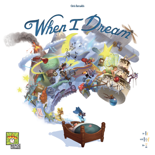 Dale Yu: Review of When I Dream | The Opinionated Gamers