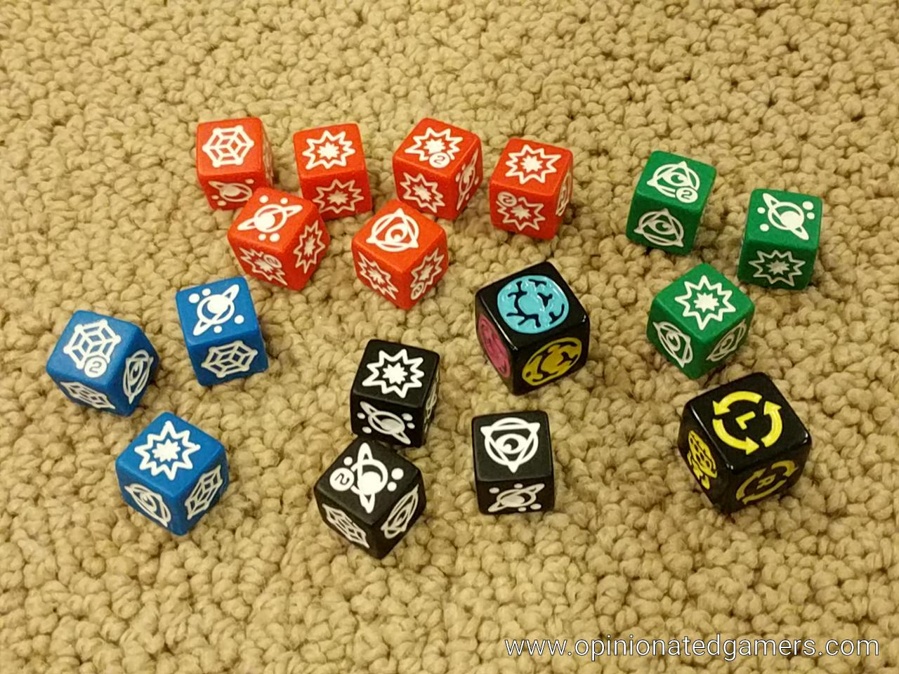 Avengers Infinity War Cooperative Dice and Card Game USAopoly Thanos Rising