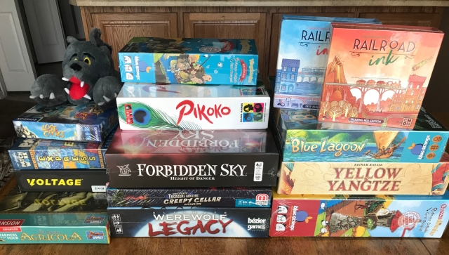 Chris Wray's Gen Con 2018 Haul