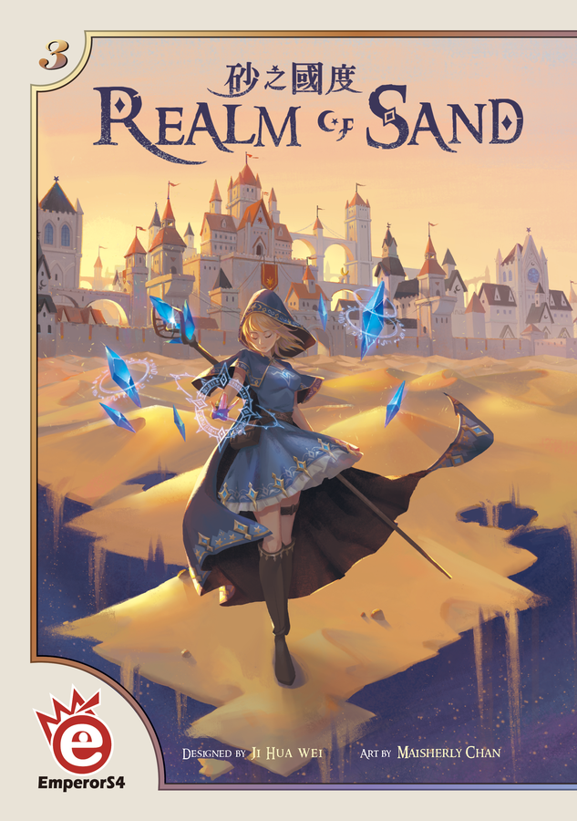 Opinionated Gamers: Essen Preview: Realm of Sand image