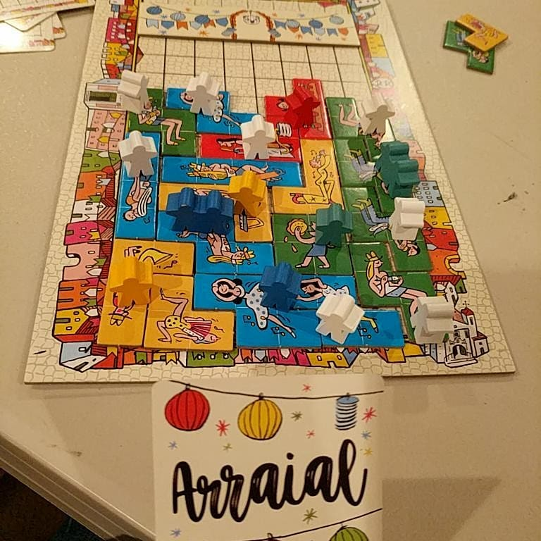 Dale Yu: Review of Arraial image