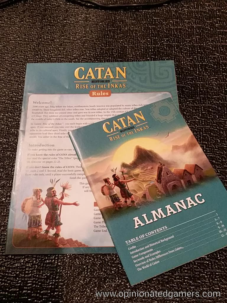 Dale Yu: First Impressions of Catan Histories: Rise of the Inkas image