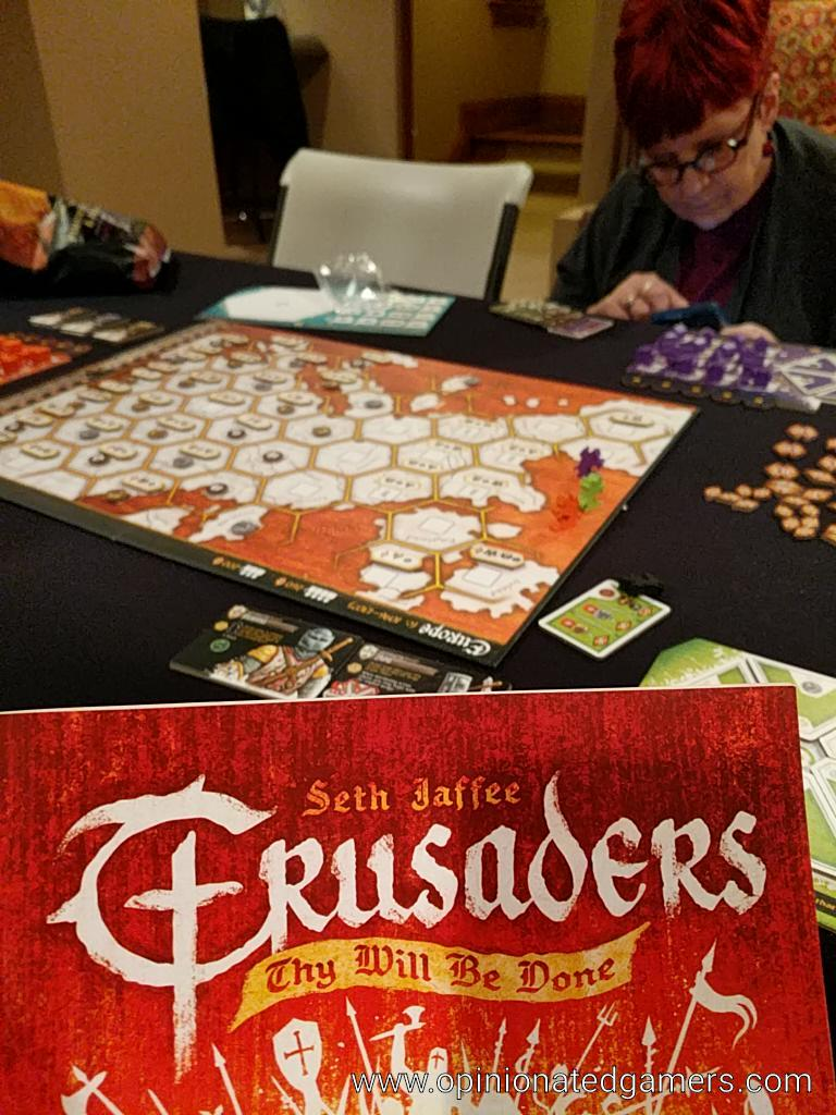 Dale Yu: Review of Crusaders: Thy Will Be Done image