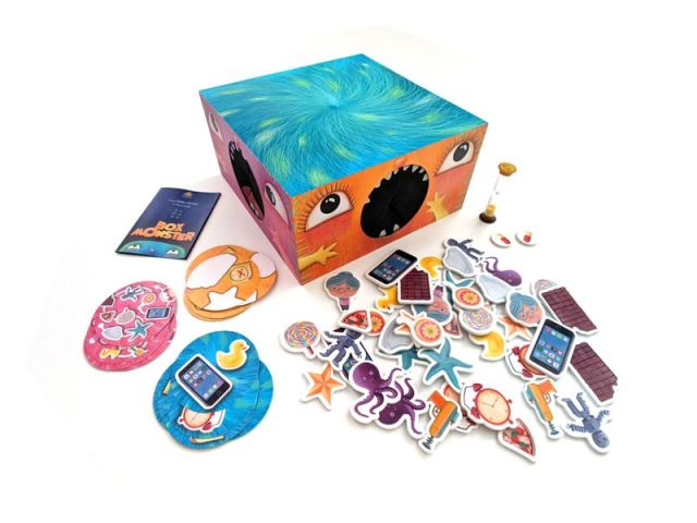 box monster pieces