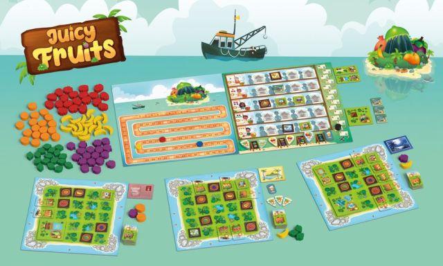 juicy fruits in play