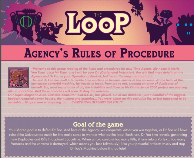 the loop rules